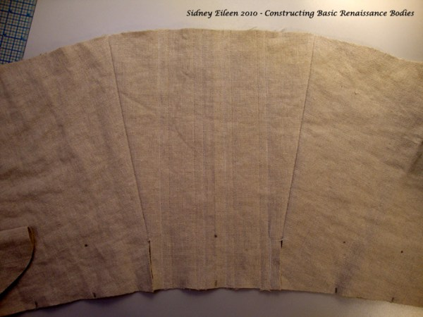 How to make a renaissance corset, by Sidney Eileen