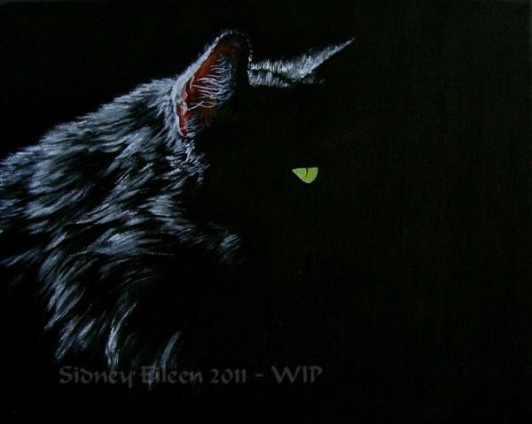 Title: Familiar - WIP 2, Artist: Sidney Eileen