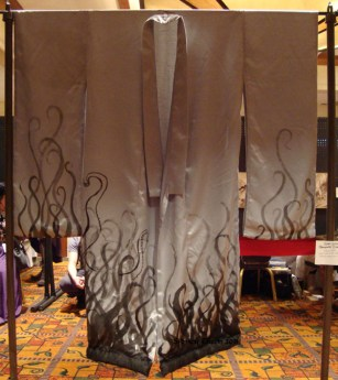Silver Steampunk Kimono, by Sidney Eileen