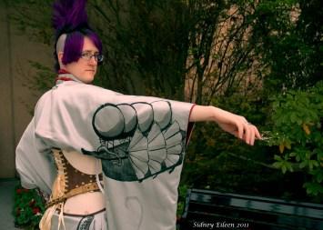 Silver Steampunk Kimono