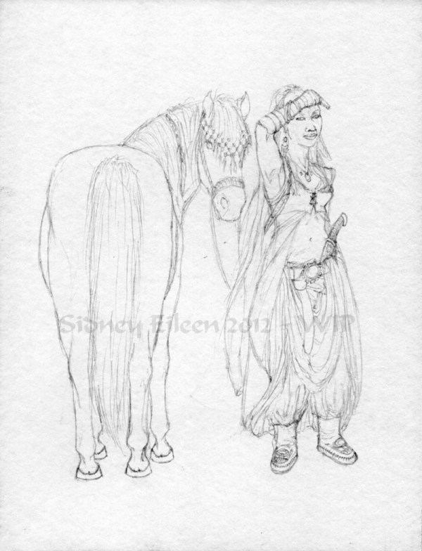 On The Trail - Pencil Stage