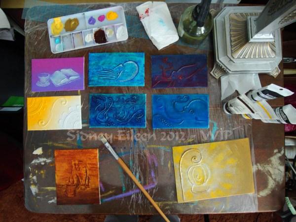Steampunk-Meme Minimalist Paintings - Group1 - WIP5