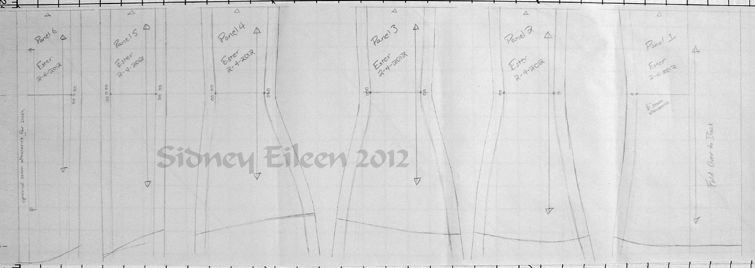 How to draft an underbust corset from scale by sidney eileen how to draft an underbust corset from scale jeuxipadfo Gallery