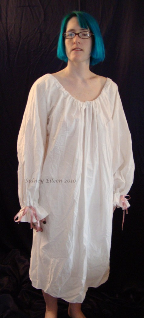 Cotton Chemise, by Sidney Eileen