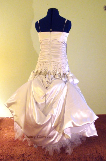 Elegant Punk Rock Wedding Dress, by Sidney Eileen