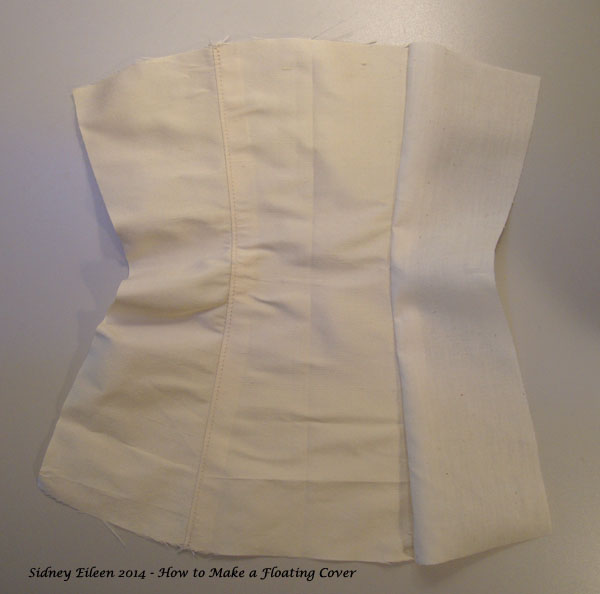 How to Make a Floating Corset Cover - 05, by Sidney Eileen