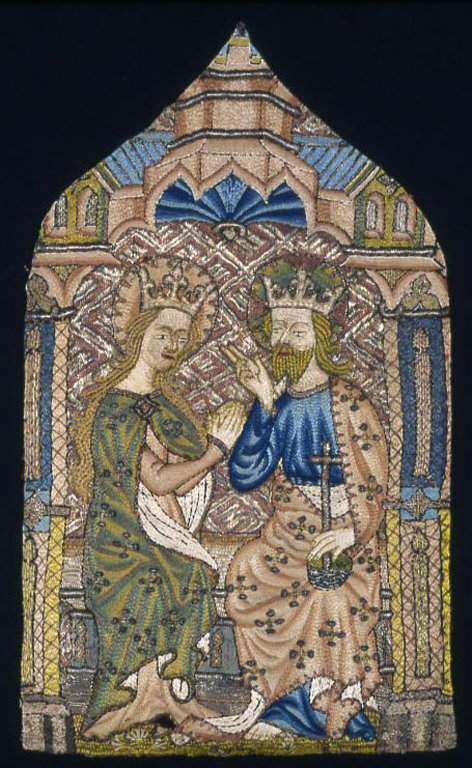 Fragment (From an Orphrey Band), 1400/50 - http://www.artic.edu/aic/collections/artwork/143679