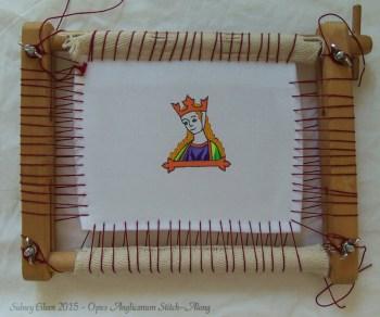 Opus Anglicanum Stitch-Along 05, by Sidney Eileen