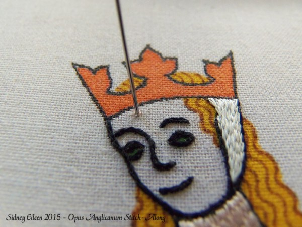 Opus Anglicanum Stitch-Along 070, by Sidney Eileen
