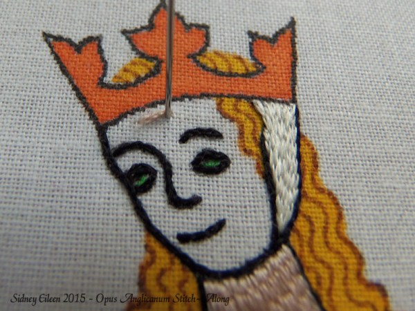 Opus Anglicanum Stitch-Along 073