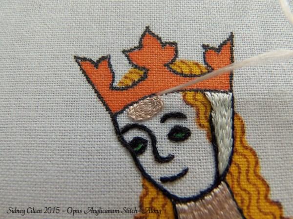 Opus Anglicanum Stitch-Along 083, by Sidney Eileen