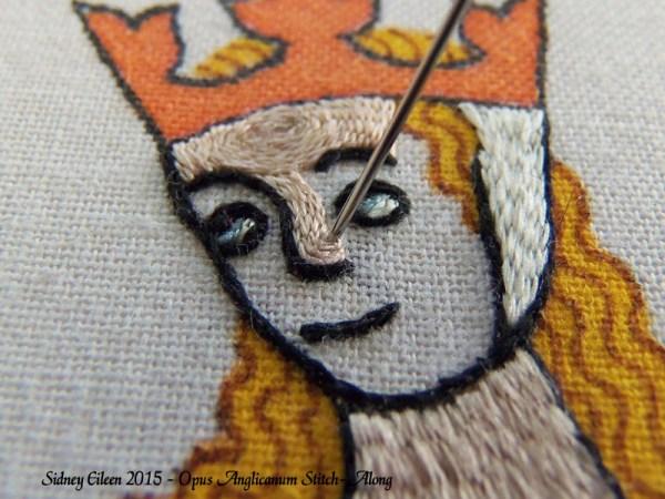 Opus Anglicanum Stitch-Along 097, by Sidney Eileen