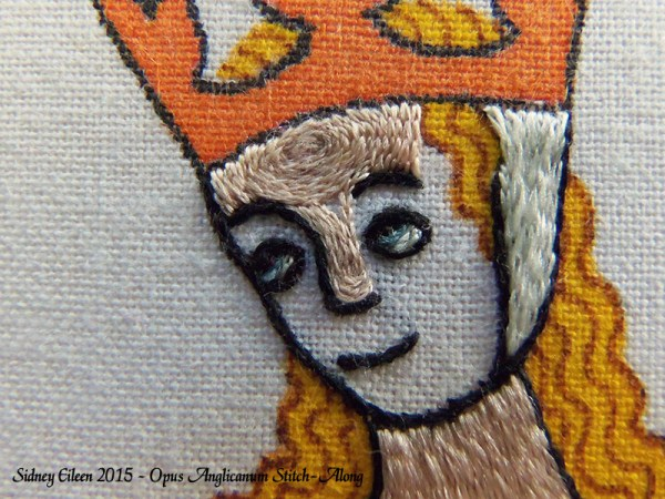 Opus Anglicanum Stitch-Along 098, by Sidney Eileen