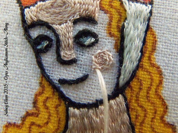 Opus Anglicanum Stitch-Along 109, by Sidney Eileen