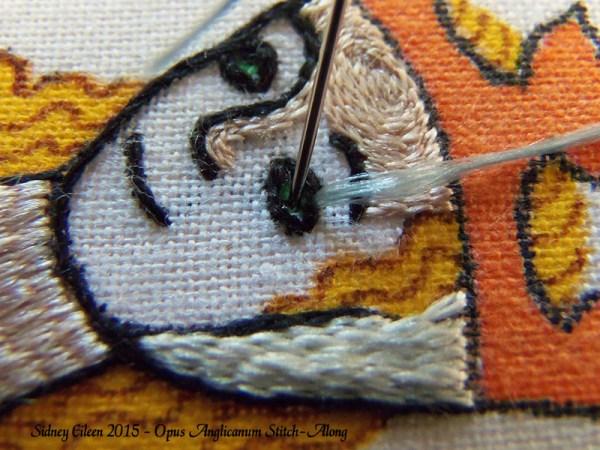 Opus Anglicanum Stitch-Along 112, by Sidney Eileen