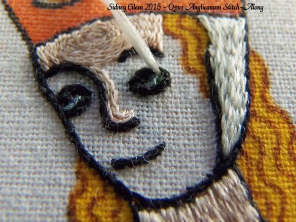 Opus Anglicanum Stitch-Along 117, by Sidney Eileen