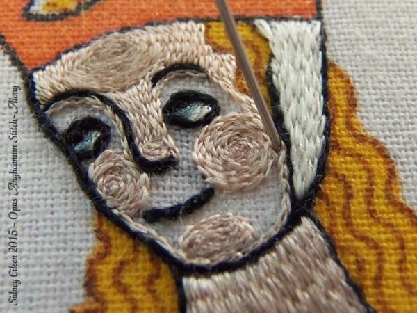 Opus Anglicanum Stitch Along - 141, by Sidney Eileen