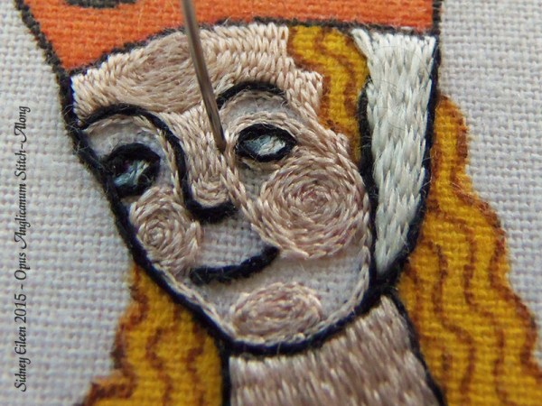 Opus Anglicanum Stitch Along - 148, by Sidney Eileen