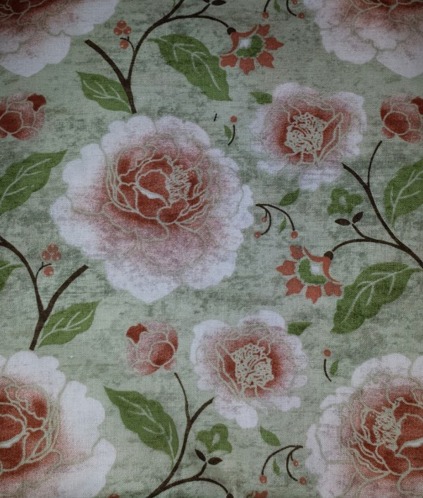 Floral Cotton Print Fabric