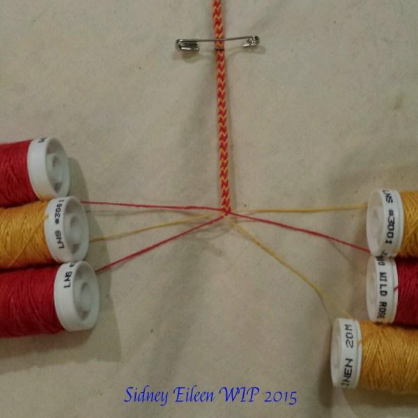 Viking 6-Strand Braid - WIP2, by Sidney Eileen