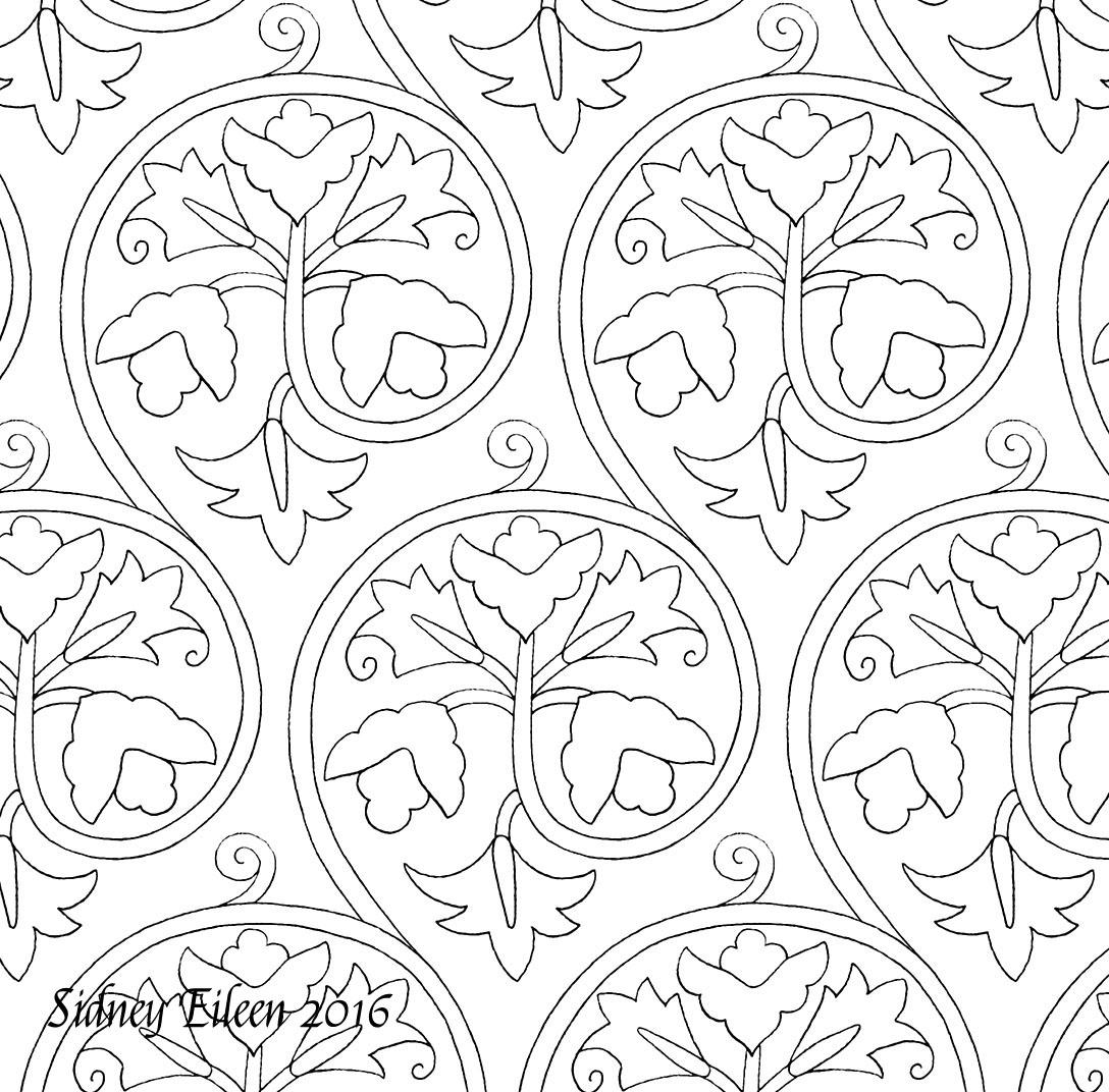 Blackwork Patterns Cool Decoration