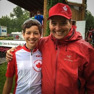 Team Canada Head Coach Dan Proulx
