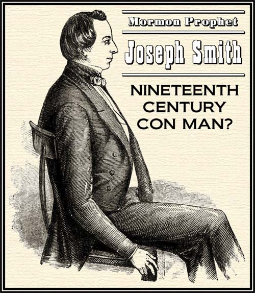 Image result for image of joseph smith fraud