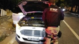Fusion com queixa de roubo também apreendida pela PRF