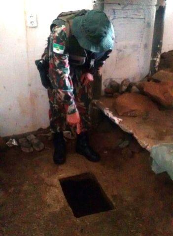 Túnel é encontrado no Presídio de Caicó