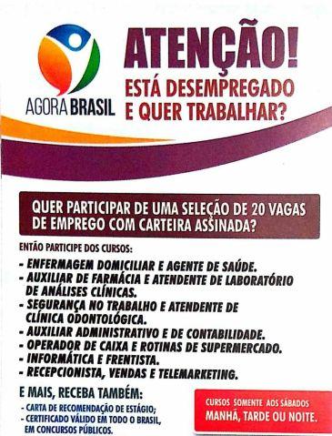 Agora Brasil realiza cursos em Caicó