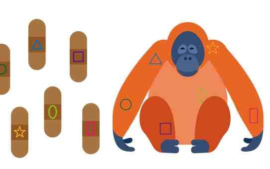 DIY貼紙遊戲 大猩猩OK繃