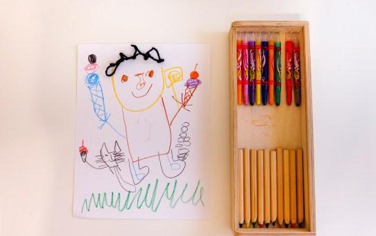 三歲寶寶日常隨手畫 Orane's drawing 3Y