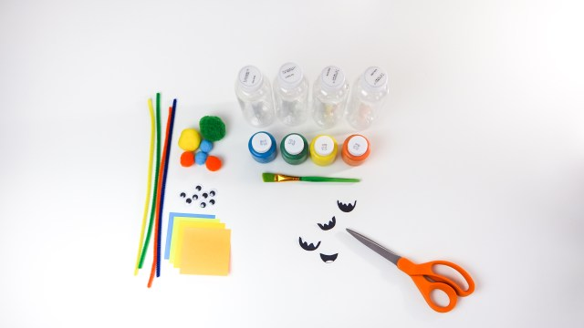 DIY 變色的可愛妖怪玩具 需要材料