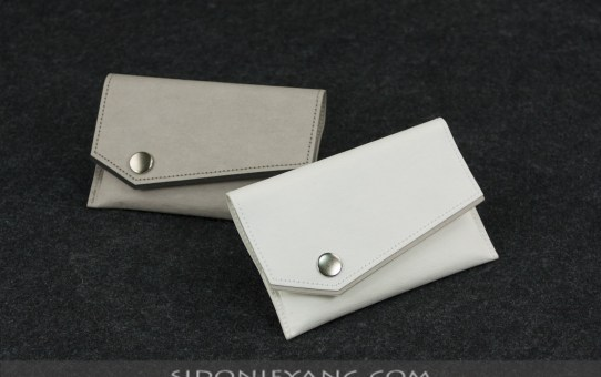 新款斜口配色名片夾 | New Style Business Card Case with Accent