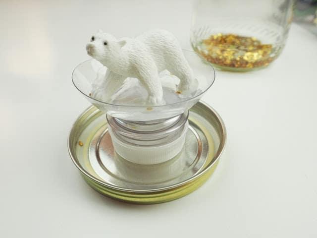 自製玩具 金蔥雪花球 DIY Glitter Globe