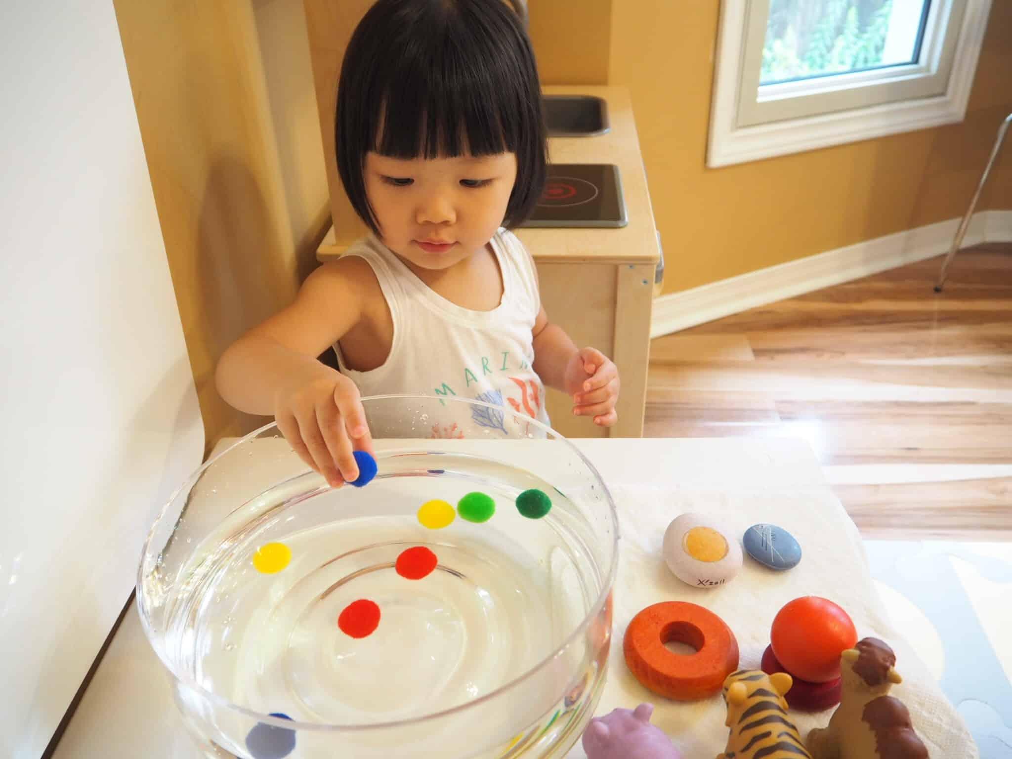 寶寶版浮力遊戲 Buoyancy Game for toddler