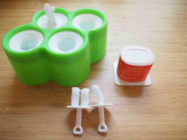 自製優格冰棒 -寶寶版 DIY Frozen Yogurt for Toddler