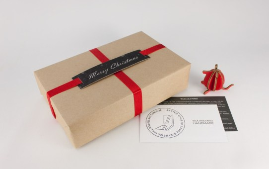 Wax Paper Tag- Christmas Gift Wrapping 自製蠟紙包裝標籤 - 聖誕禮物包裝