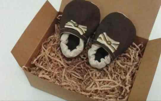 手作嬰兒鞋(版型分享)