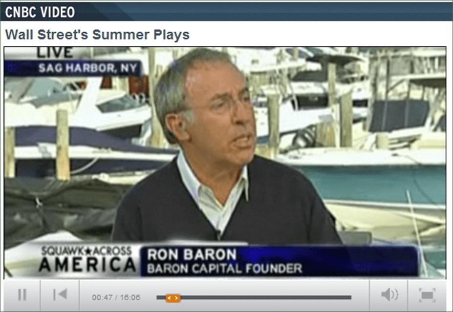 Growth Guru Ron Baron