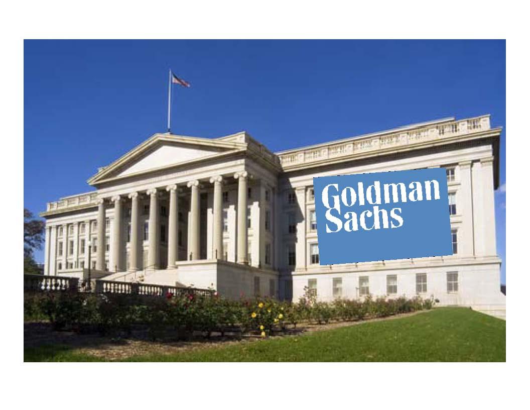 Goldman-Treasury