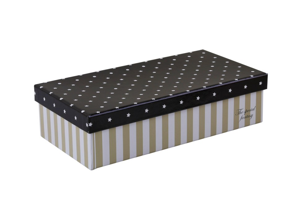 Black gift Box-7aed