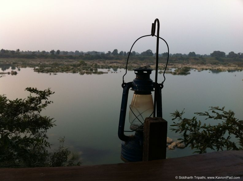 Picture is a Poem 1 - Sunset inside a Lantern