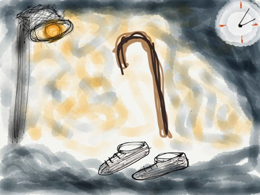 Copyright – Siddharth Tripathi &  www.KavioniPad.com, Drawn on an iPad with fingers, iOS app : Paper