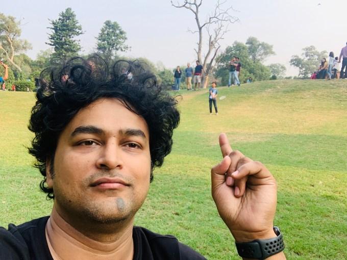 With Son... @ Lodhi Gardens, New Delhi