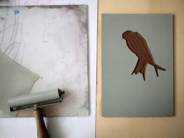 printing swallows