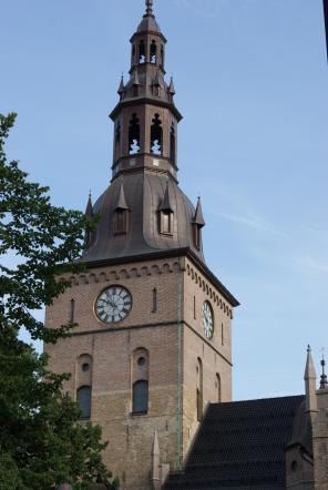 Turm der Kathedrale von Oslo