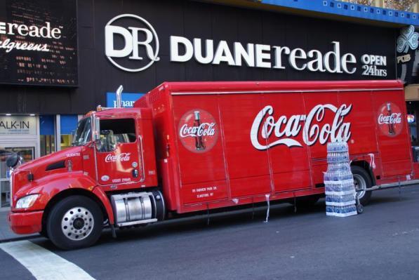 Coca Cola Truck New York