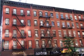 10th Avenue Hauswand New York