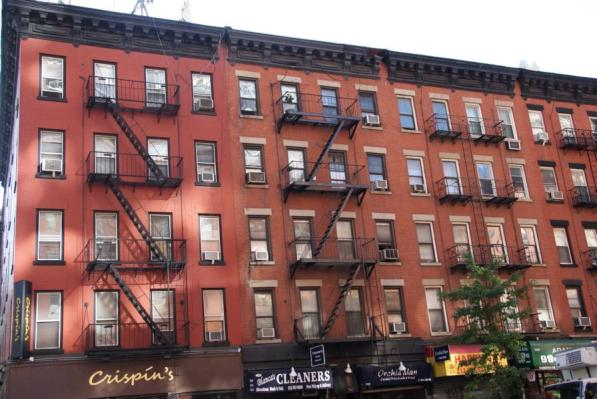 10th Avenue Hauswand New York